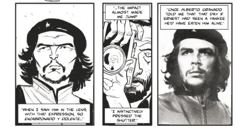 Che Guevara La Korda photo comic book
