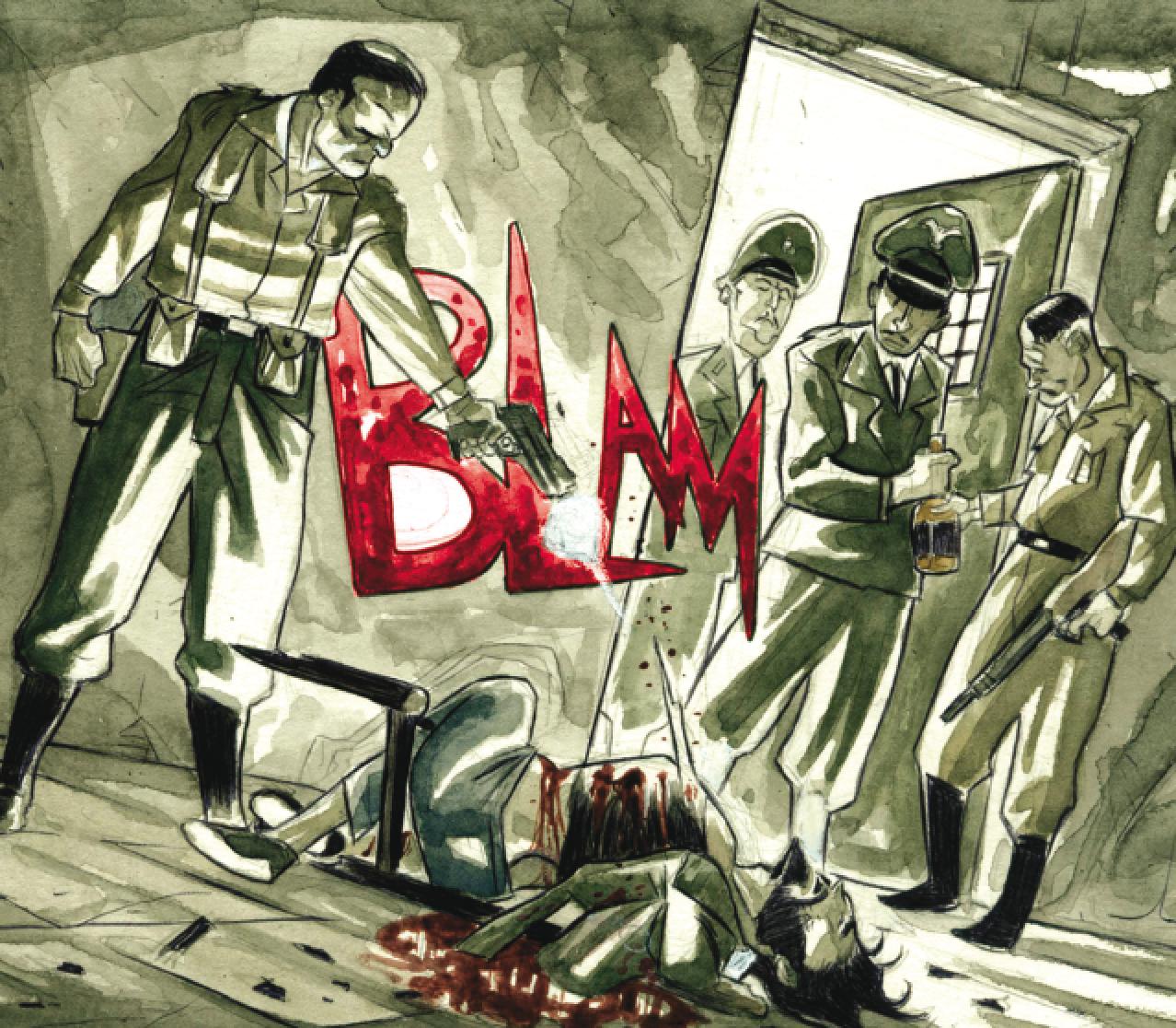 Execution of Che Guevara comic book3